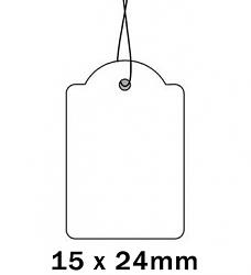 Apli Kaartje aan Koord 15x24cm