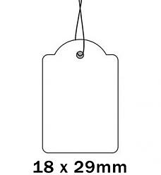 Apli Kaartje aan Koord 18x29cm