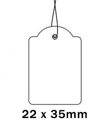 Apli Kaartje aan Koord 22x35cm