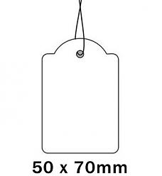 Apli Kaartje aan Koord 50x70cm