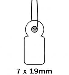 Apli Kaartje aan Koord 7x19cm