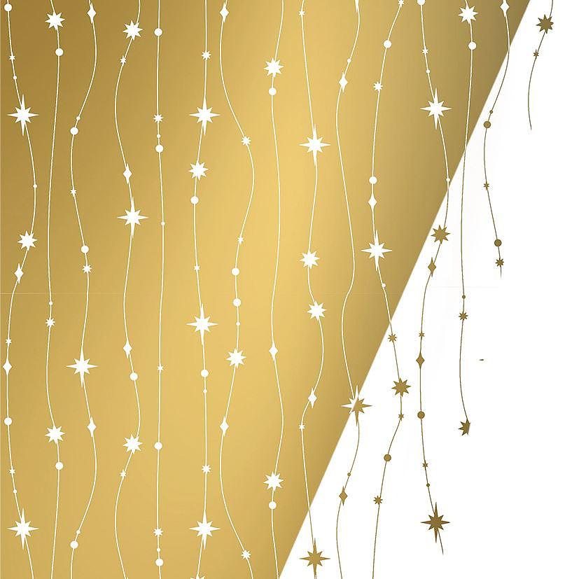 Kadozakjes Gold & White Falling Stars