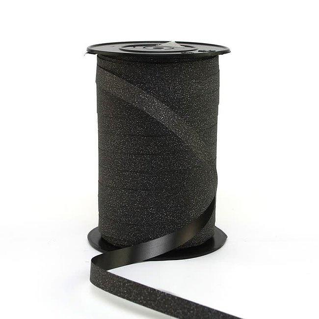 Krullint Glitter Zwart