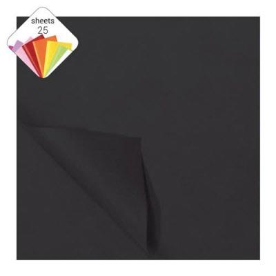 Vloeipapier Zwart 25 vel