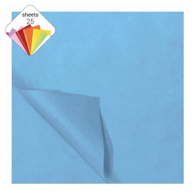 Vloeipapier Babyblauw 25 vel