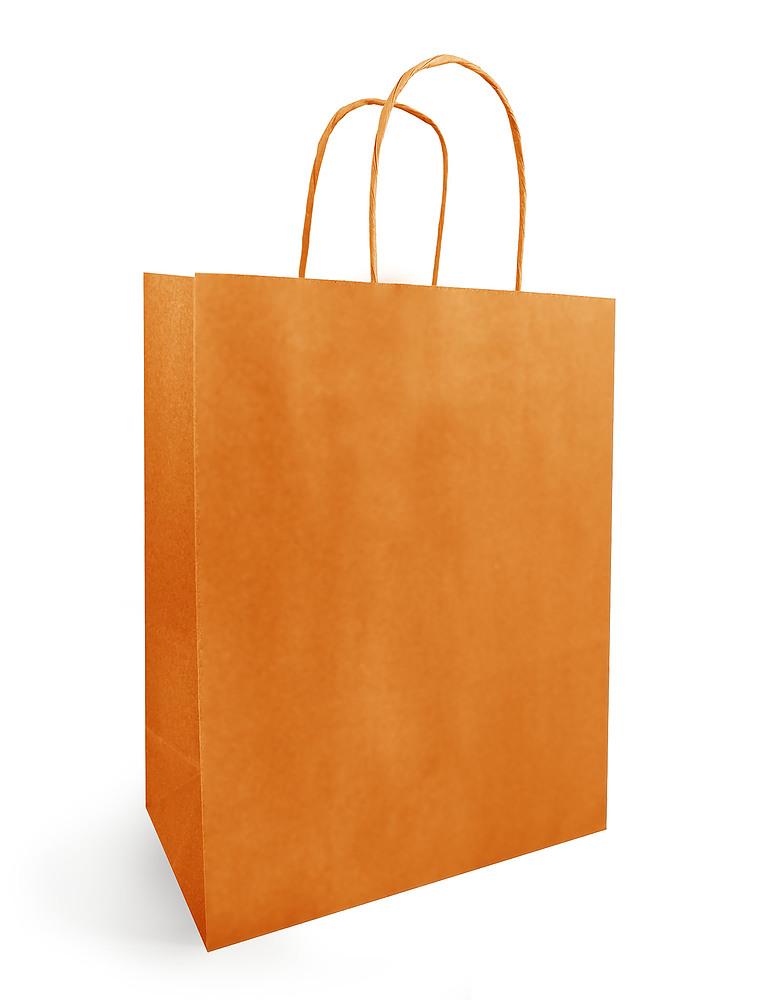 Papieren Draagtas Oranje