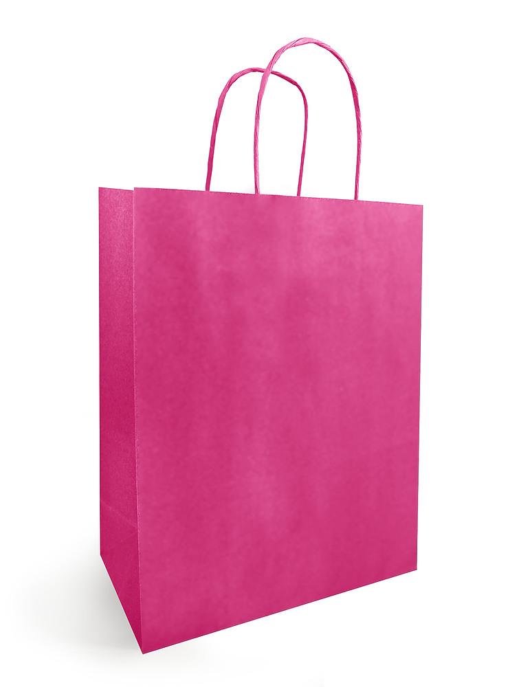 Papieren Draagtas Pink
