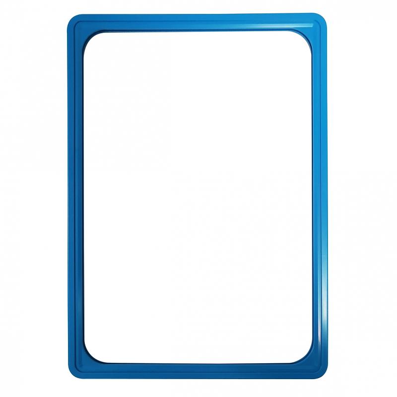 Prijskaartraam Blauw A4