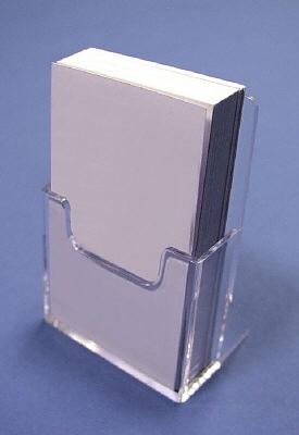 Visitekaarthouder Staand/Hoog Model