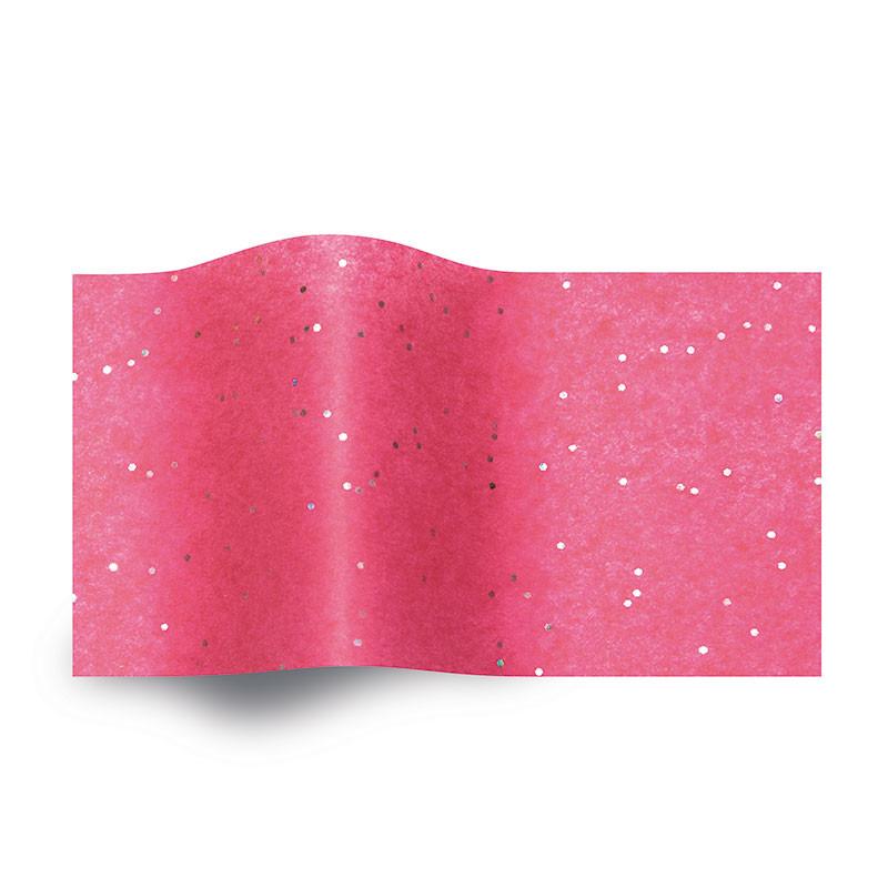 Vloeipapier Pink Glitter